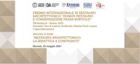 IL RISULTATO DELLA VIII EDIZIONE DEL PREMIO DOMUS RESTAURO E CONSERVAZIONE